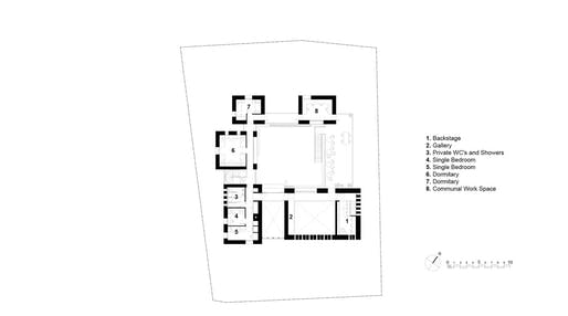 First Floor plan by Project V Architecture.