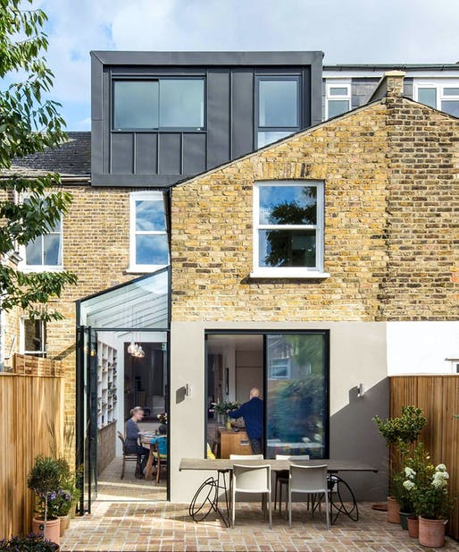 House in Hackney, Stoke Newington, UK by Neil Dusheiko Architects; Photo: Tim Crocker/Agnes Sanvito