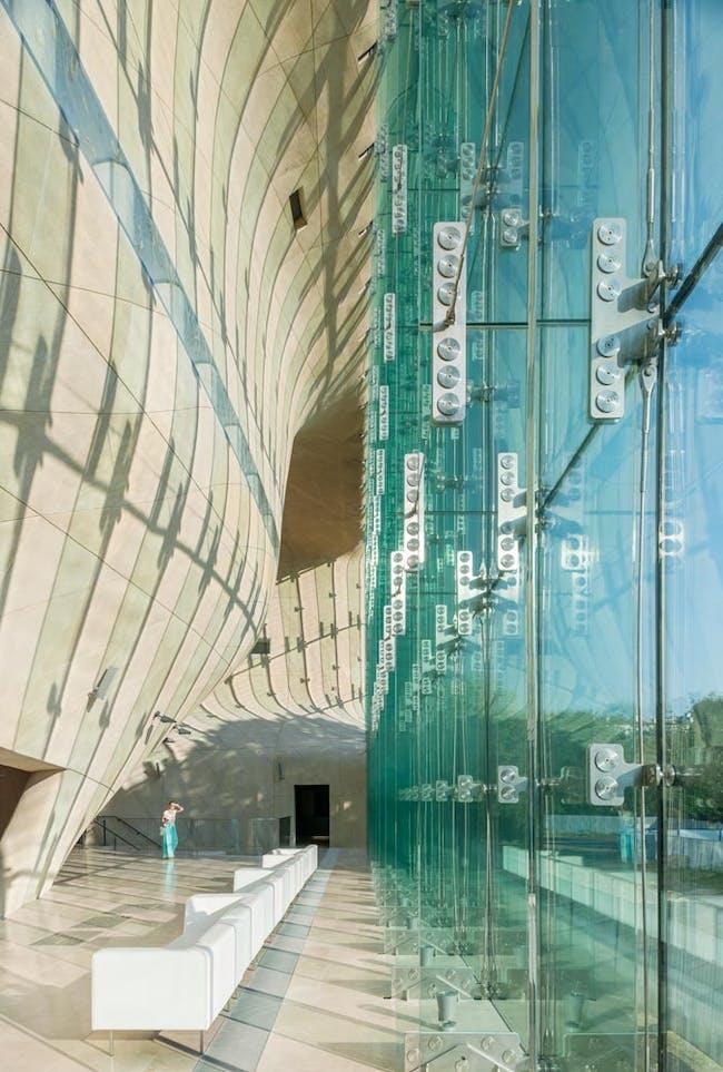 POLIN Museum of the History of Polish Jews by Lahdelma & Mahlamäki Architects.