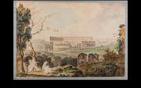 The Coliseum, Watercolor, 18th century. Image courtesy James Tice.