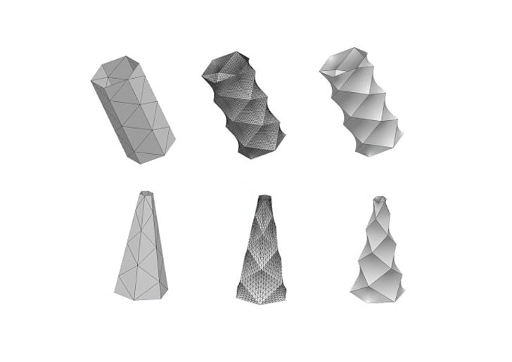 Mesh minimization using Surface Evolver. (© DRX Team)