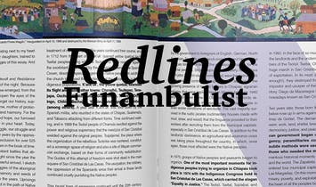 Redlines: The Funambulist