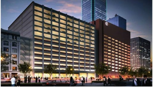 Mark Lamster, The Dallas Morning News architecture critic, uses this recently proposed downtown Dallas development to lament the lack of imagination in rebuilding the American city. (Image via dallasnews.com)