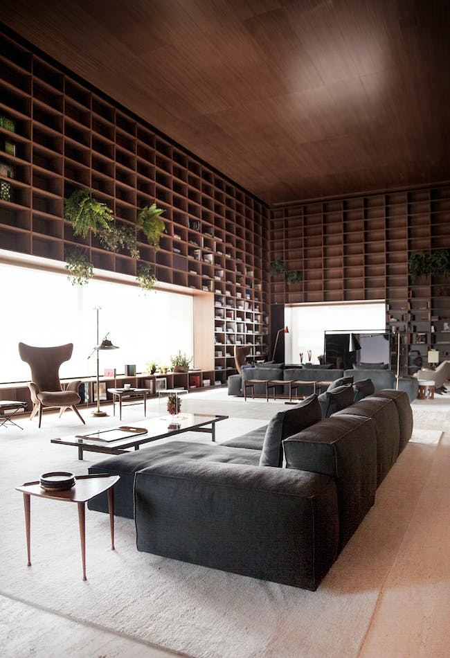 Best Residential Interior - Studio MK27: SP-Penthouse, São Paulo, Brazil. Photo credit: Azure