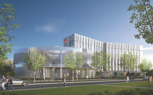 UIC Dorms render. Image courtesy of Pepper Construction