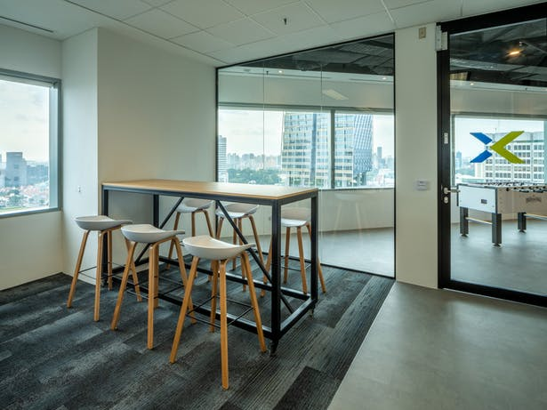 Nutanix A Modern Office Design From Space Matrix In Singapore That Reflects An Ecological Ethos Space Matrix Archinect