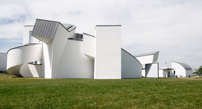 Frank Gehry's Vitra Design Museum (photo by Markus Keuter via flickr)