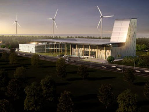 SDTI Waste Recycling Facility design by MINIWIZ