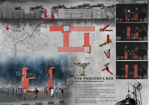Third Place: The Pandora's Box; Participants: Arbaz Hanif Patel, Riya Kailashbhai Lalwani and Akshay Dipakbhai Ujeniya; Country: India
