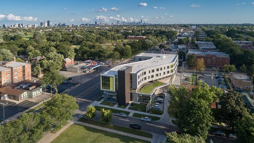 Northtown Branch Library and Apartments. Photo: James Steinkamp Photography.