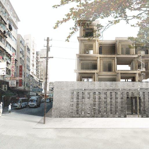 1ST PLACE: 21st century Tulou by Misak Terzibasiyan, Athanasia Kalaitzidou, Luigi Simone | The Netherlands.