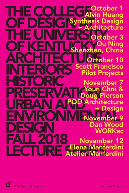 Poster courtesy of University of Kentucky College of Design.