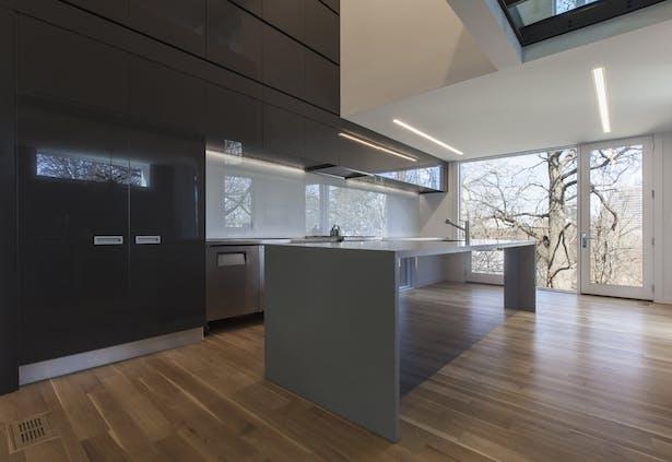 main floor / kitchen