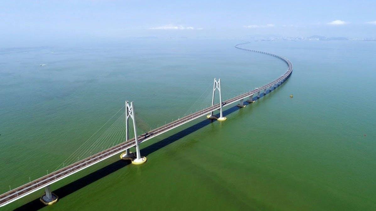 Hongkong Macau Brücke
