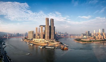 Moshe Safdie-designed Raffles City Chongqing now (partially) open
