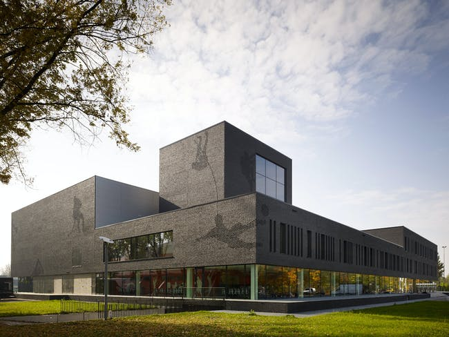 Schools winner: Fontys Sports College, Netherlands by Mecanoo International. Image courtesy of WAF.