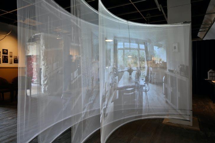 'Interior Portraits' exhibition, photographed by Aad Hoogendoorn.