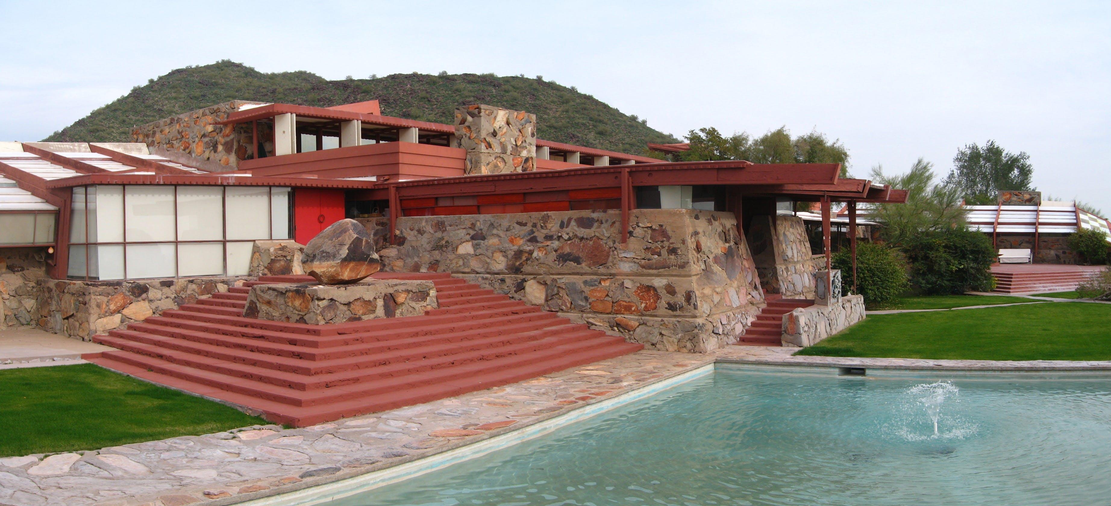 große Vielfalt Stile neue hohe Qualität begehrteste Mode With $1.5M to go, Frank Lloyd Wright School of Architecture ...