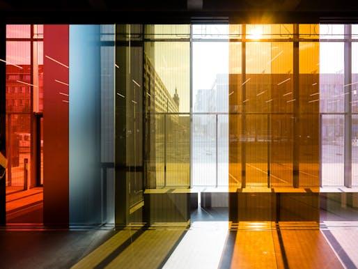 Bauhaus Museum Dessau, Lichtspielhaus by Lucy Raven. Courtesy Stiftung Bauhaus Dessau / Foto: Thomas Meyer / OSTKREUZ, 2019