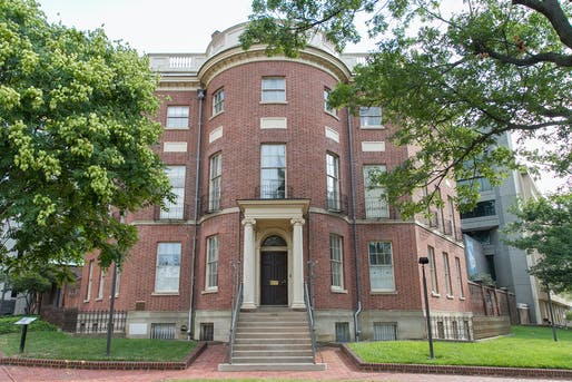 The Octagon House, home of the Architects Foundation in Washington, D.C. Image courtesy of the Architects Foundation.