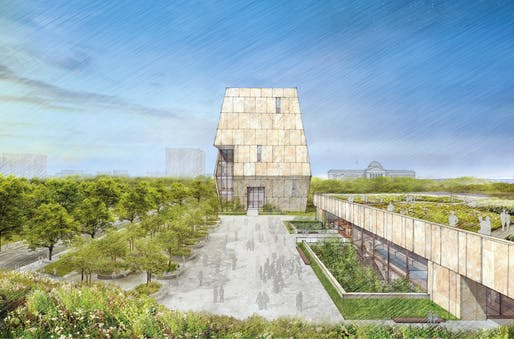 Image via Obama Presidential Center. Credit: Tod Williams Billie Tsien Architects.