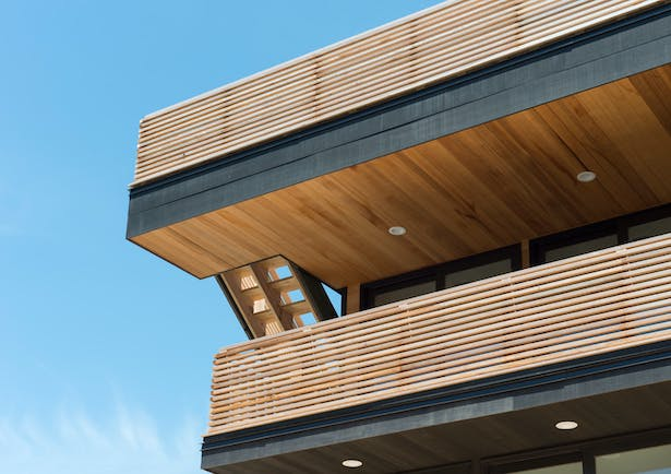 Home with Balconies for Ocean Views in Long Beach, NY
