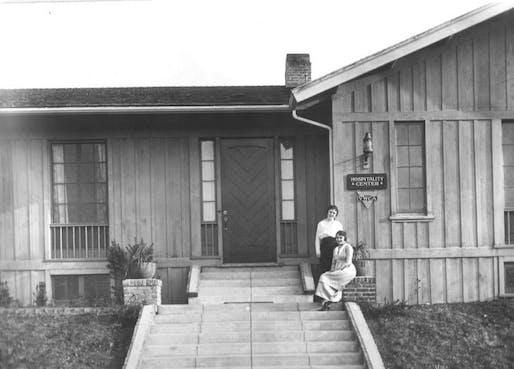 YWCA of San Pedro, Historic Julia Morgan Building; exterior. Courtesy of SPF:a