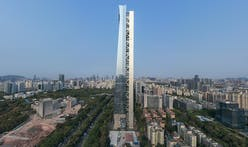 Morphosis' Shenzhen skyscraper sets world record with detached core