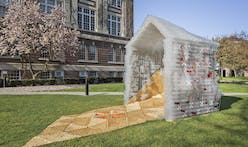Rensselaer Students Develop a Disaster Architecture from Water Bottles and Shipping Materials