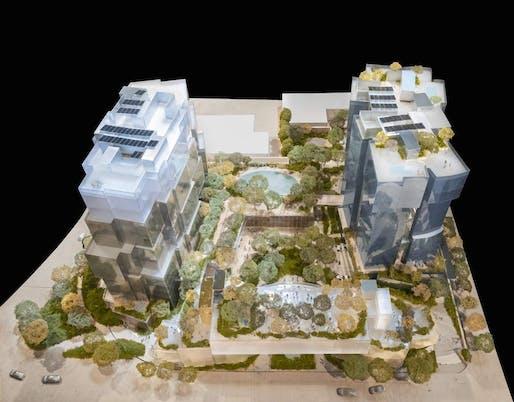 "Image: Gehry Partners LLP, via <a href=""https://urbanize.la/post/gehry-unveils-revised-design-8150-sunset-development"">urbanize.la</a>"