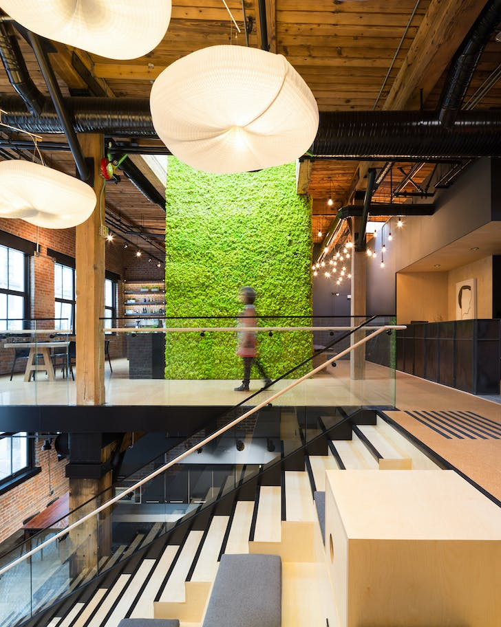 Slack Technologies Vancouver Office. Photo: Ema Peters.