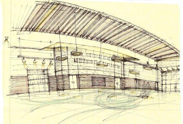 Greenwood Auditorium Lobby Study-2