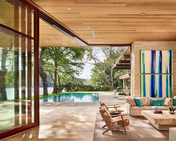 Lake Austin Residence with Quantum Windows & Doors