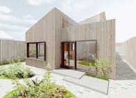 Pinwheel house