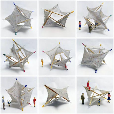 Explorations in Knitted Tesegrity