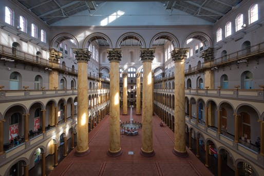 National Building Museum. Image © Timothy Neesam via Flickr (CC BY-ND 2.0)