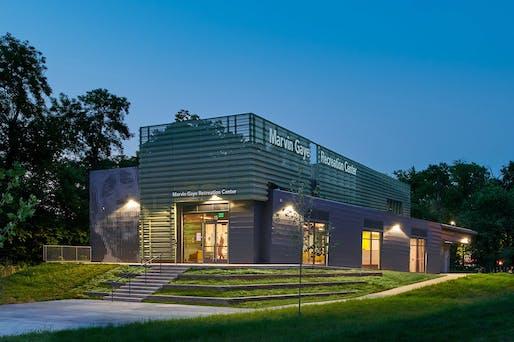 Less than $15 million - Merit: Marvin Gaye Recreation Center, Washington, D.C. Structural engineer: Simpson Gumpertz & Heger Inc. Architect: ISTUDIO Architects. Photo: Hoachlander Davis Photography.