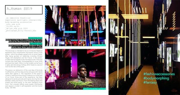A Human SS19 Pop-up Store | Paul Xiaopu Wang | Archinect