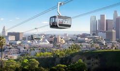 LA's proposed Dodger Stadium-Union Station gondola route revealed