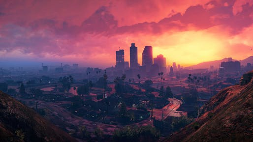 Scene from Grand Theft Auto V by Rockstar Games.