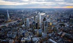 Tallest City of London tower, 22 Bishopsgate, tops out
