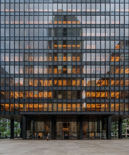 "The Seagram Building, a landmark of midcentury Modernism, at 375 Park Avenue. Photo: Maciek Lulko/<a href=""https://www.flickr.com/photos/lulek/45180370294"">Flickr</a>"