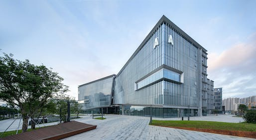 "<a href=""https://archinect.com/firms/project/55482343/10-design-jinwan-aviation-city-industrial-service-centre/150207222"">Jinwan Aviation City Industrial Service Centre</a> by <a href=""https://archinect.com/10design"">10 Design</a>."