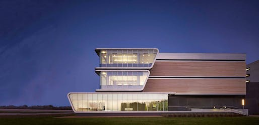 BP Center for High-Performance Computing, Houston by HOK. Photo via HOK.