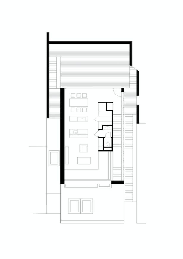 Second Floor Plan Kuba & Pilař architekti