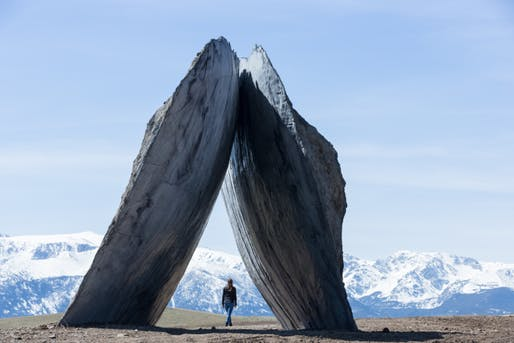 Ensamble Studio (Antón García-Abril and Débora Mesa), InvertedPortal, 2015. Image courtesy of Tippet Rise/Iwan Baan. Photo by Iwan Baan. Via The Creators Project.