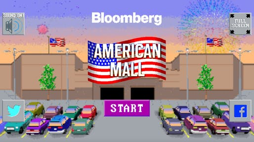 Bloomberg's The American Mall Game: A 2018 Retail Challenge.