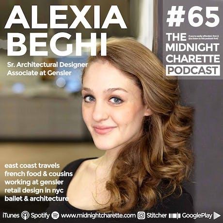 Ever wonder it's like working at Gensler? - Podcast Ep #65 w Sr. Designer Alexia Beghi!