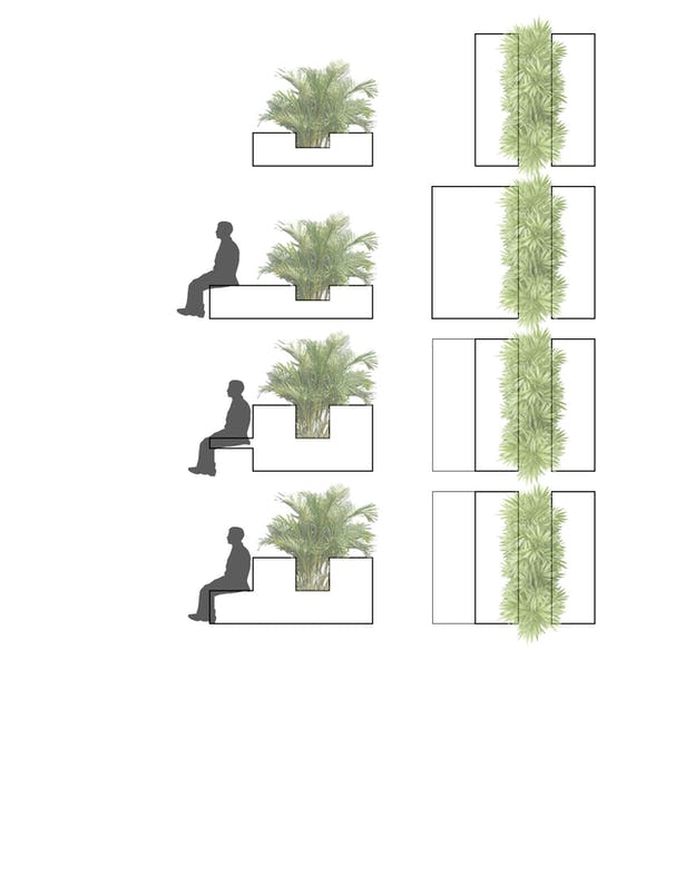 All Site Team members contributed to possible design ideas for this rock wall. These ideas were then conceptualized by team member Eden Wright.