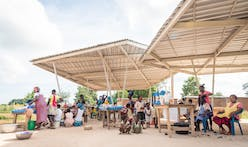 Community-built market completed in northern Ghana by [a]FA